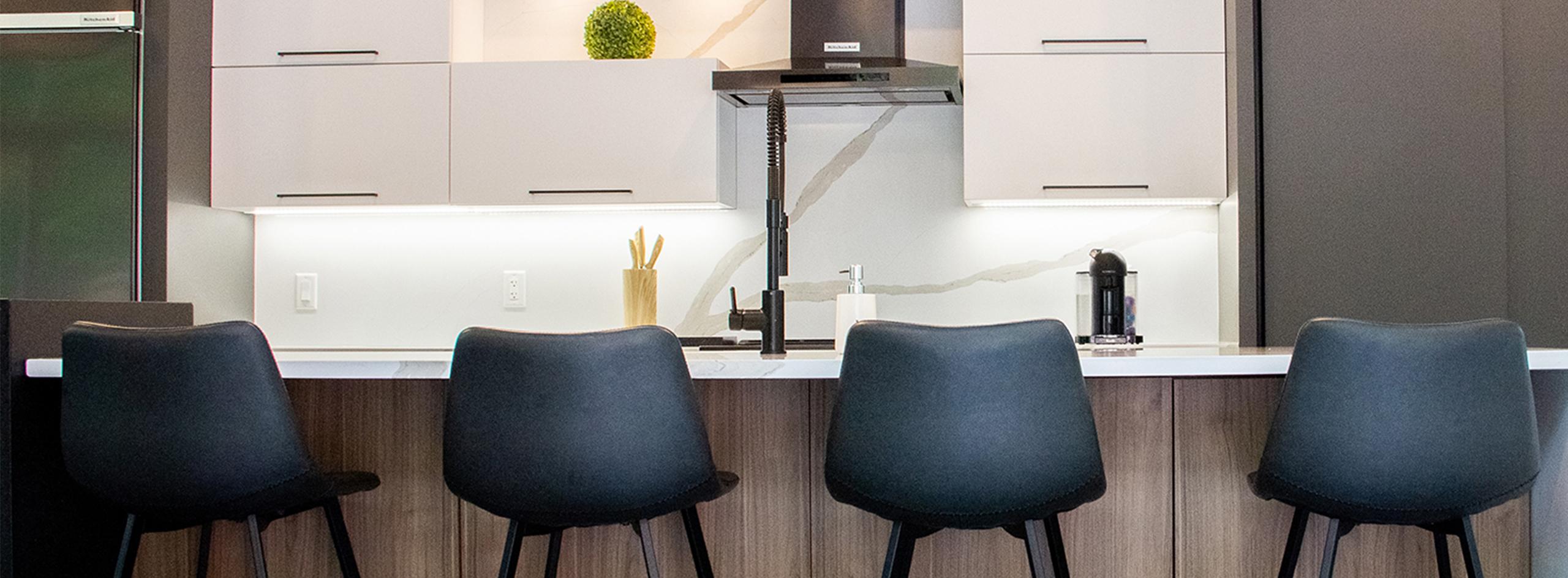 Les cuisinistes d'Atelier Excel Créateurs de vos moments précieux à la maison